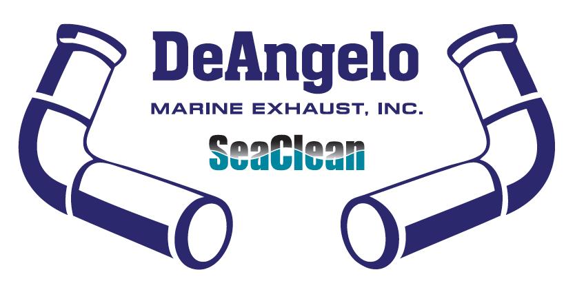 research vessel ANGARI logo deangelo marine exhaust inc.