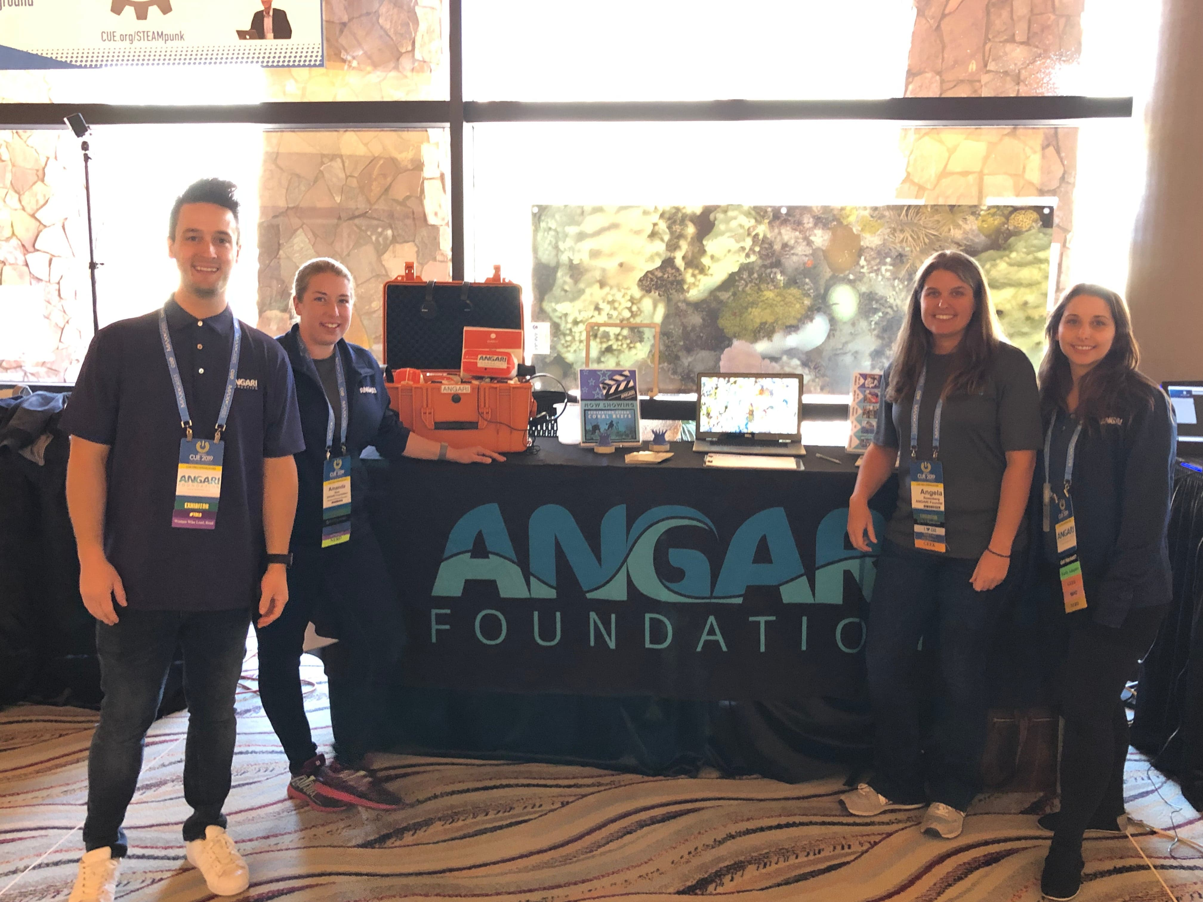 "ANGARI Foundation Travels To California To Share ""Generation Ocean"" With CUE 2019 Community"