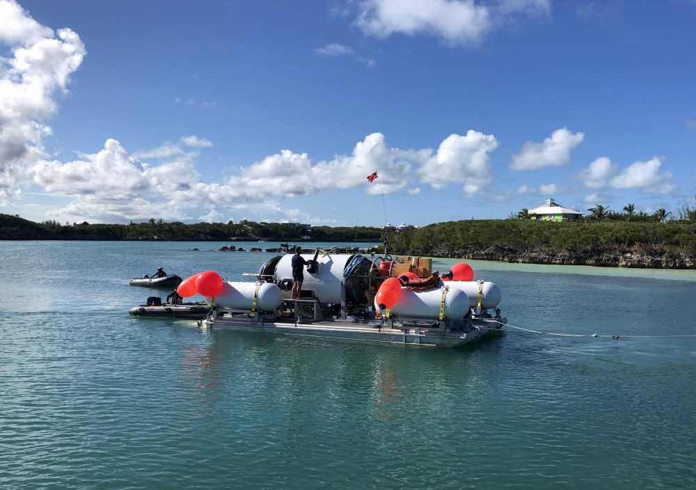 OceanGate Deep-sea Submersible Makes Record-breaking Dive In The Bahamas; R/V ANGARI Provides Surface Support