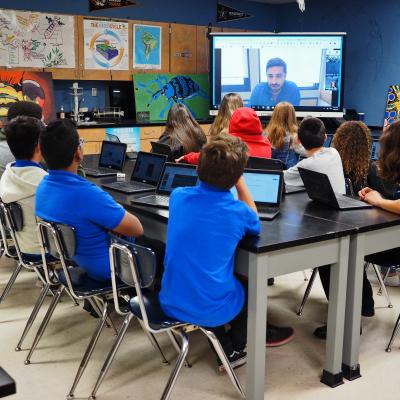 Generation Ocean: Coral Reefs scientist classroom visit