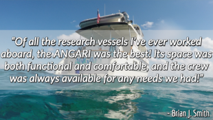 Research Vessel ANGARI Review Brian Smith