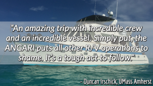 Research Vessel ANGARI Review Duncan Irschick