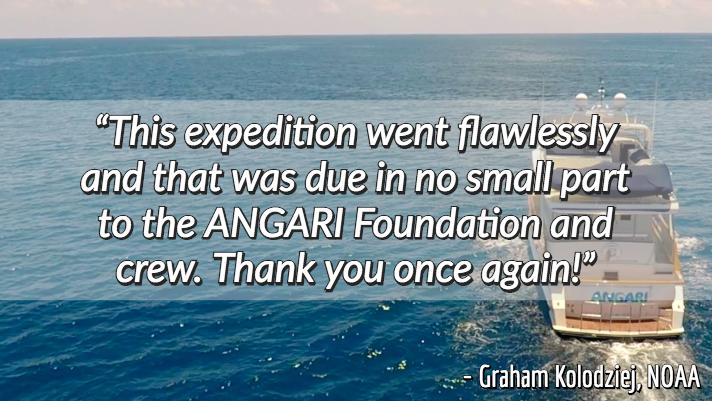 research vessel ANGARI review Graham Kolodziej