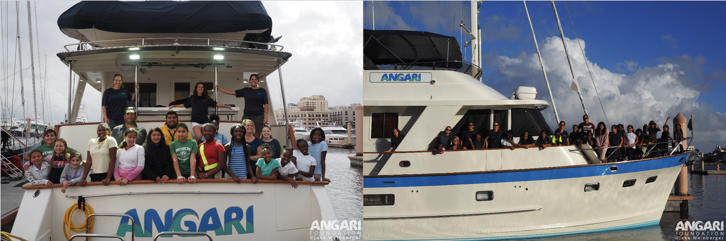 Students Learn About Life And Work Onboard R/V ANGARI