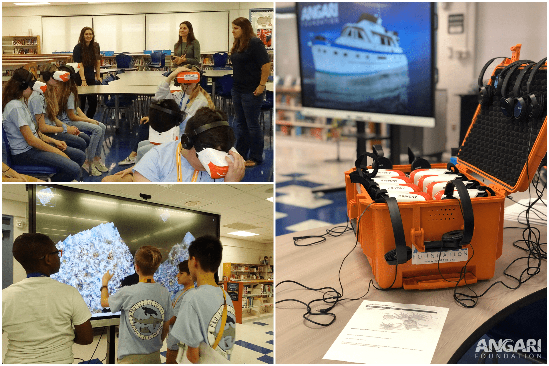 My Experience Participating In A Coral Reef Science Classroom Visit