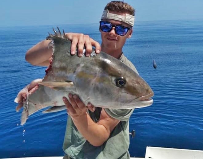 Anglers Vs. Conservationists. Shark Eaten Amberjack Palm Beach County
