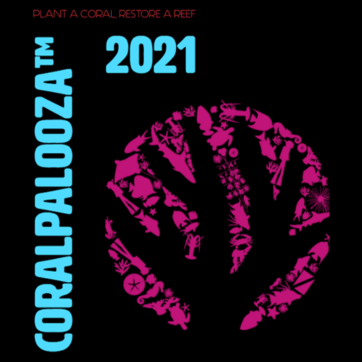 Coralpalooza logo 2021