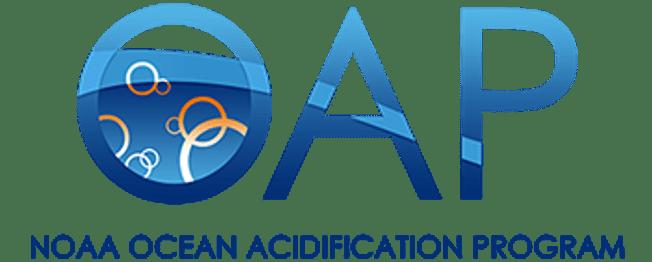 NOAA Ocean Acidification Program (OAP) Color Logo